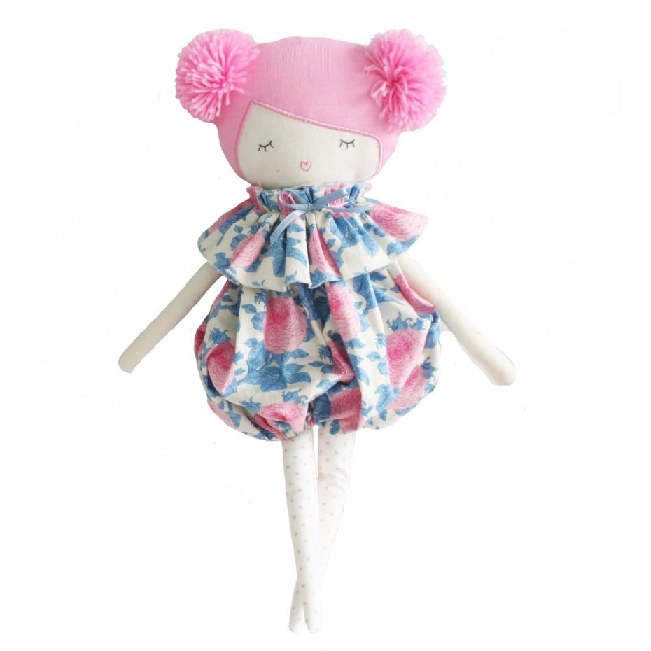 Meg Romper Doll (Pink Hair)