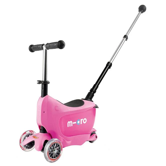 Mini2Go Deluxe Plus Scooter (Pink)