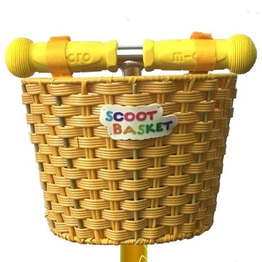 Scoot Basket (Yellow)