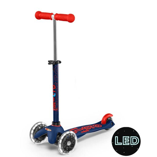 Mini Micro Deluxe LED Scooter (Navy)