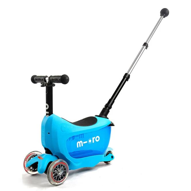 Mini2Go Deluxe Plus Scooter (Blue)