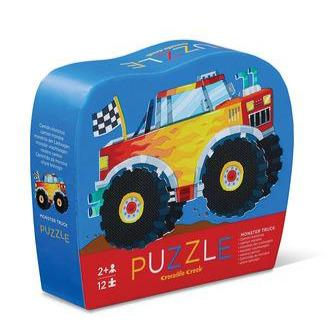 Monster Truck Puzzle (12 Pieces)