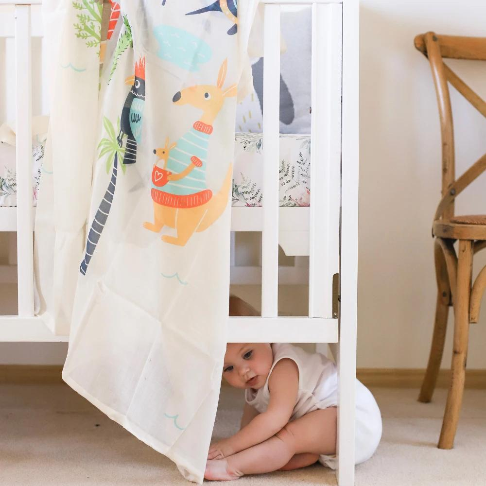 Animal Oz Muslin Swaddle