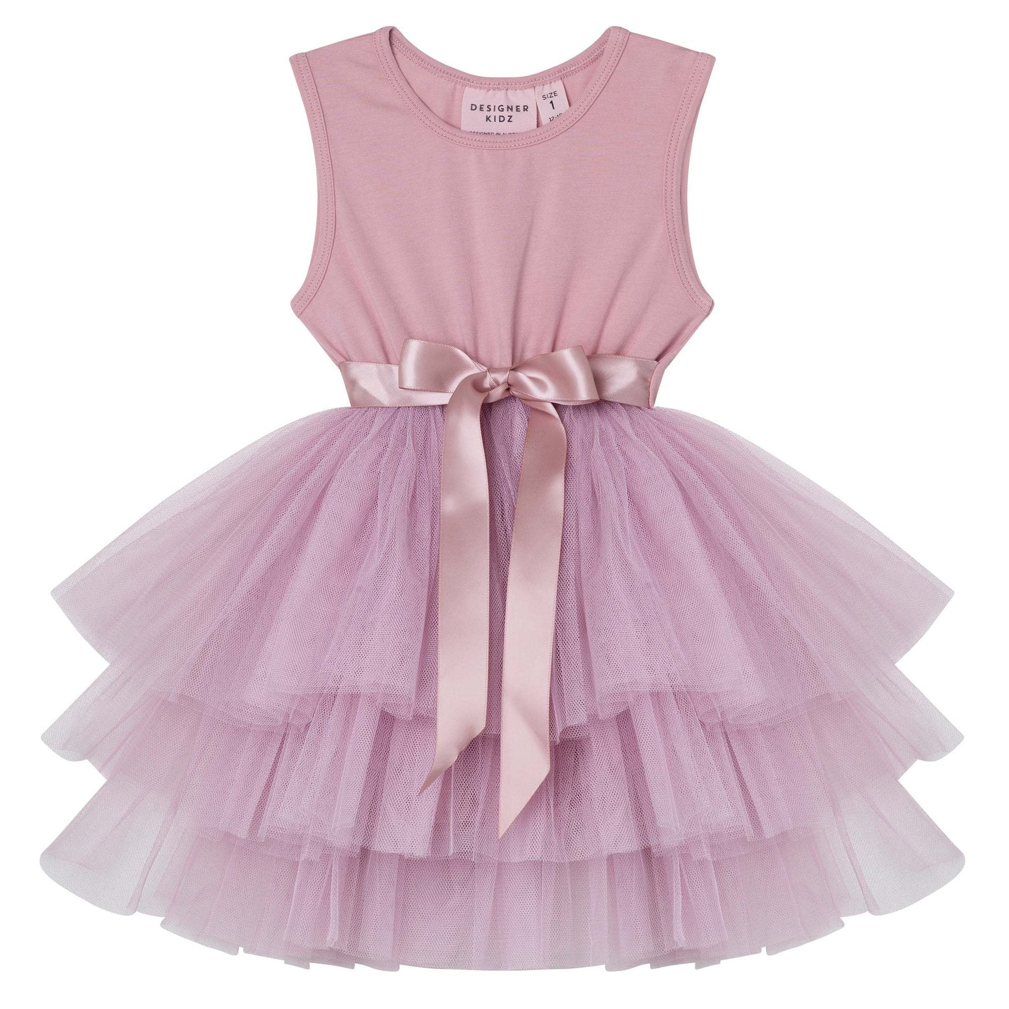 My First Tutu Dress (Truffle)