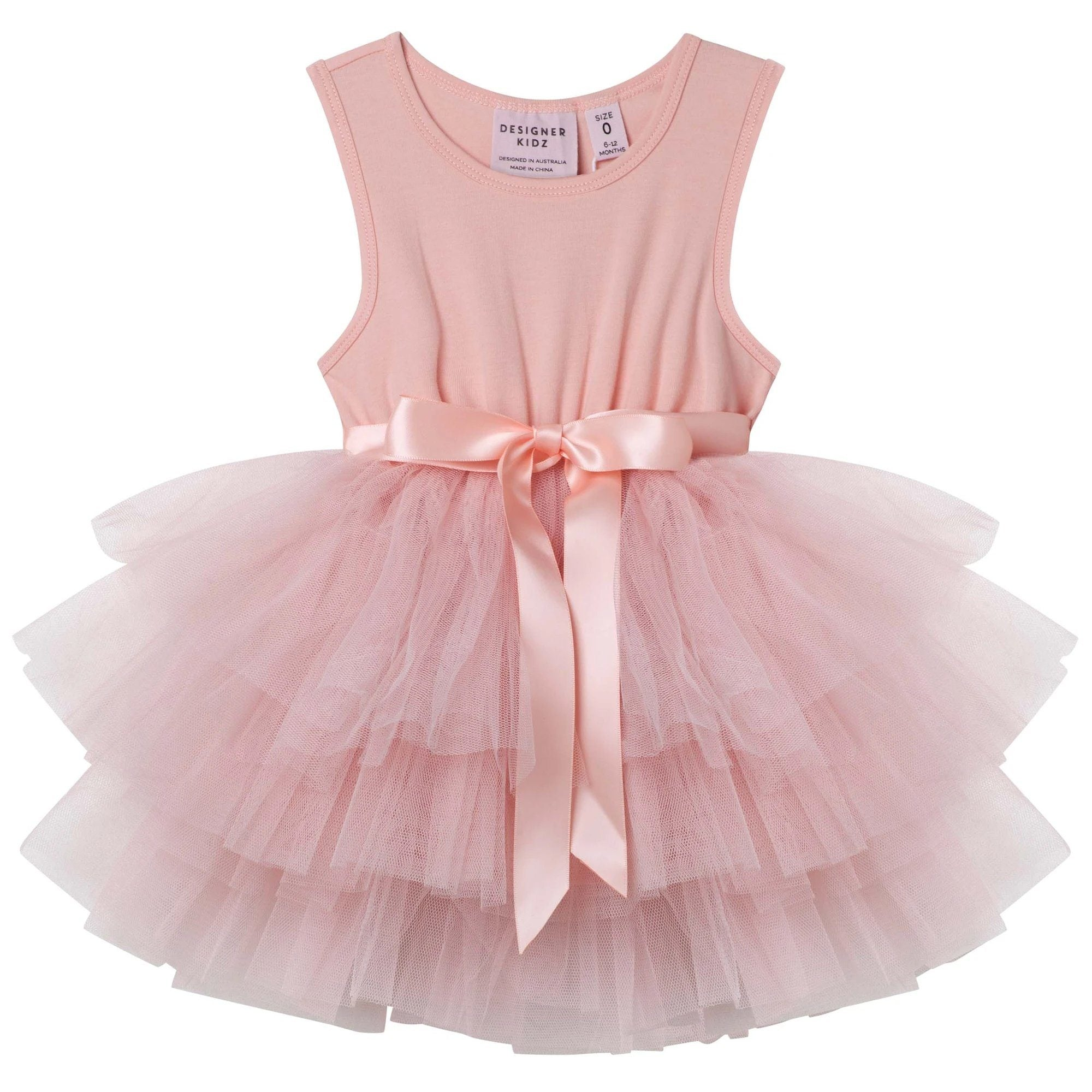 My First Tutu Dress (Tea Rose)