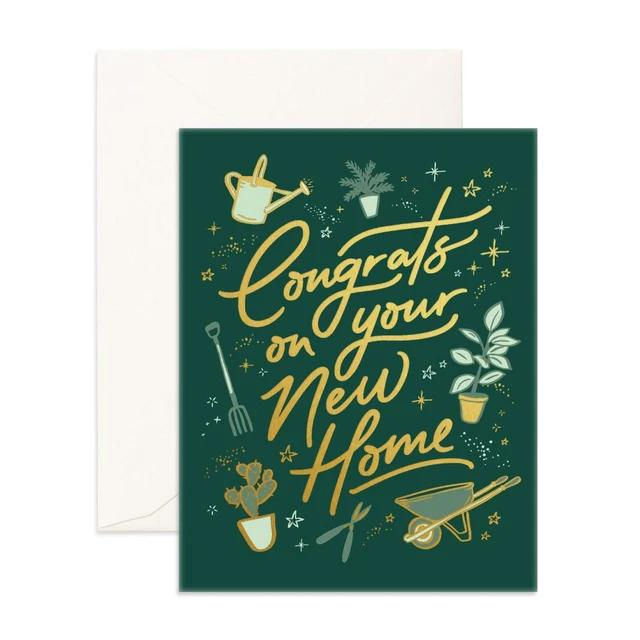 Congrats New Home Greeting Card