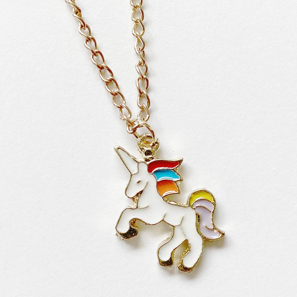 Unicorn Necklace (Pastel)