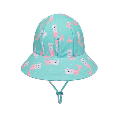 Girls Beach Bucket Hat (Merkitty)