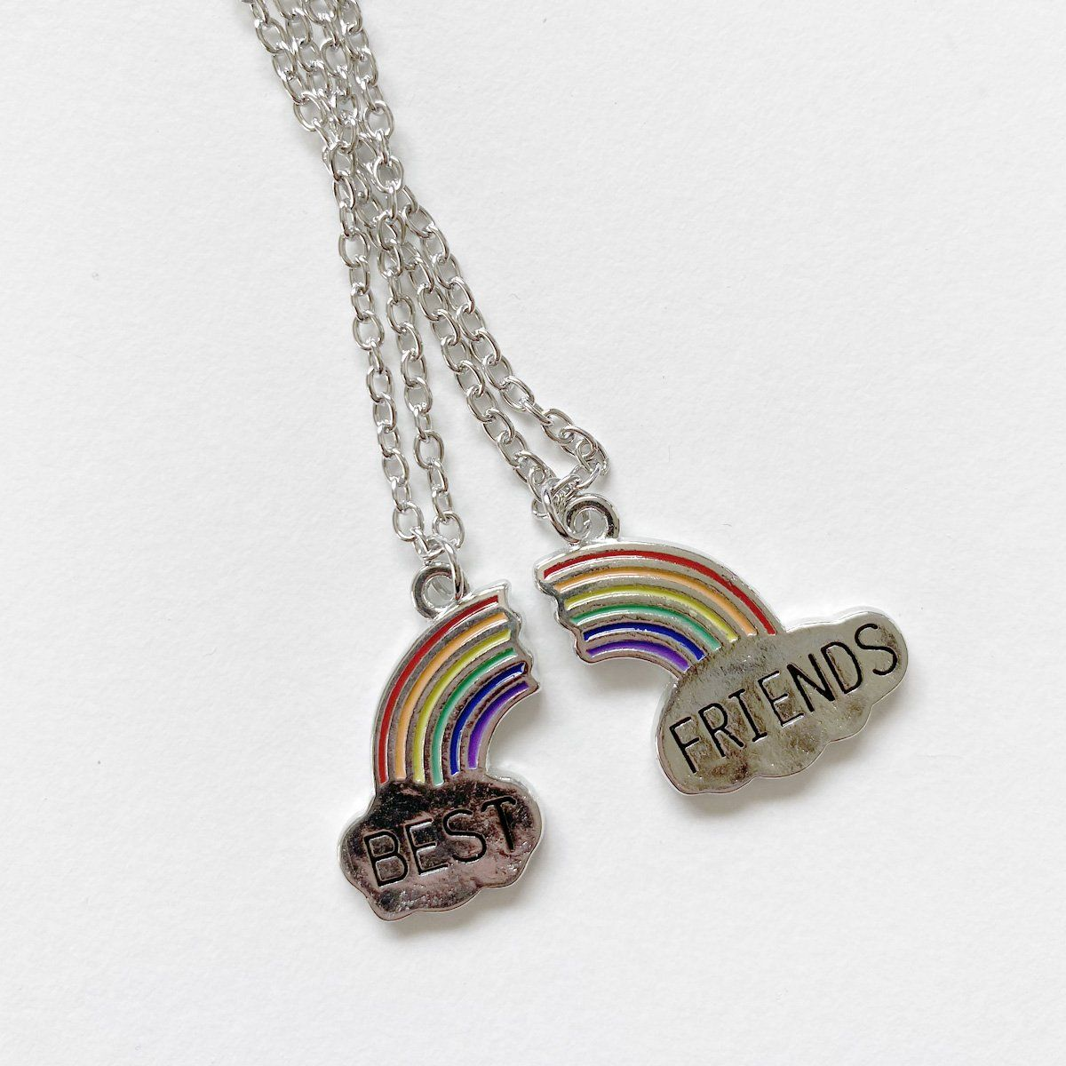 Rainbow Best Friends Necklace