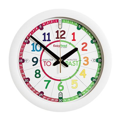 EasyRead Rainbow Face Clock