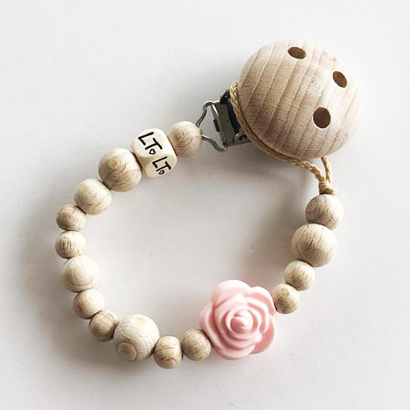 Wooden Dummy Chain (Rose Blossom)