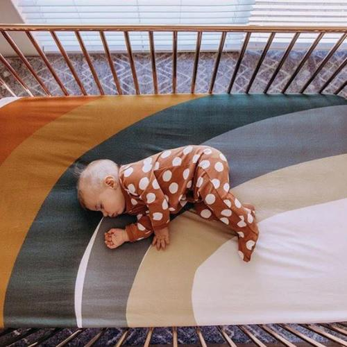 Desert Rainbow Cot Sheet