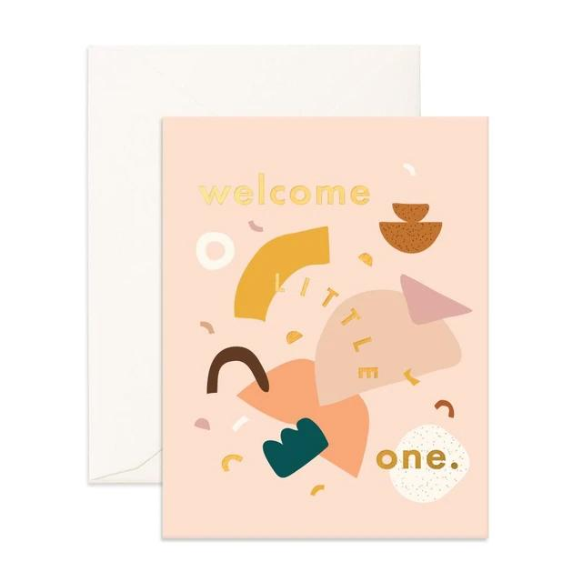 Little One Shapes Greeting Card