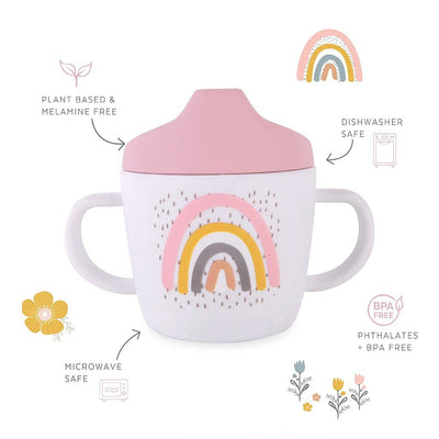 Rainbow Sippy Cup