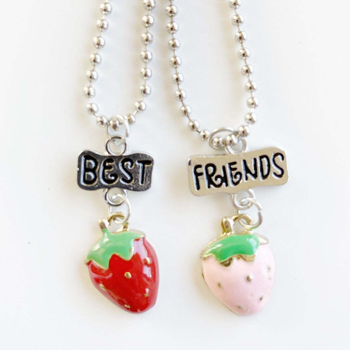 Strawberry Best Friends Necklace