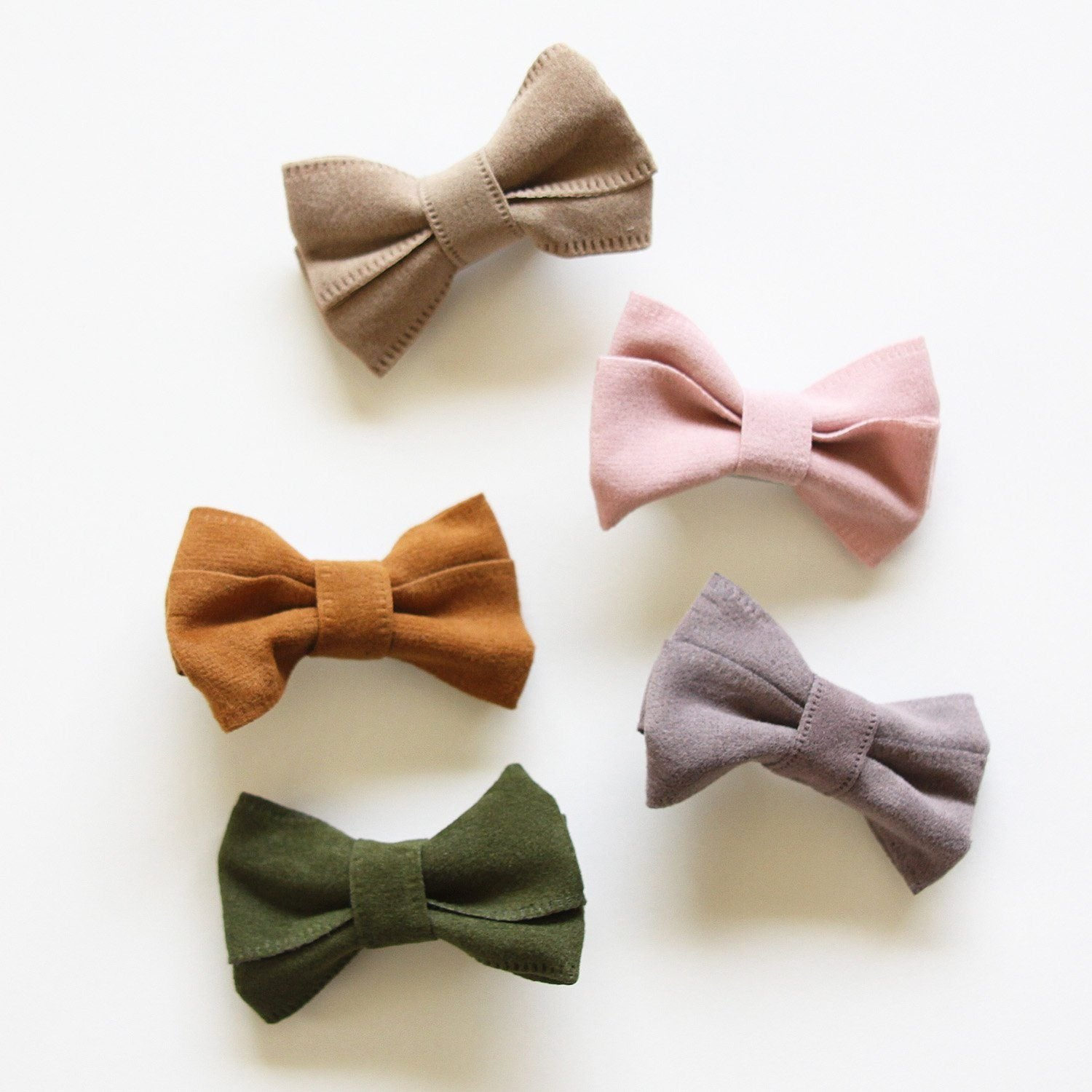 Suede Mini Bow