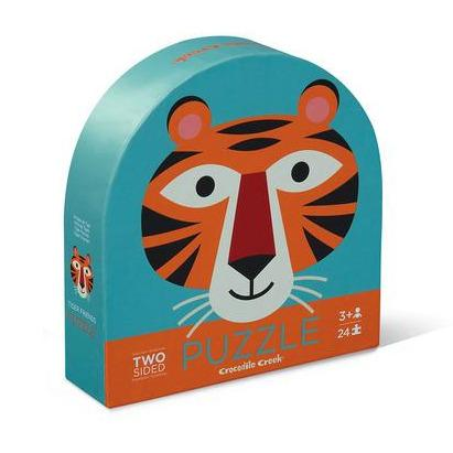 Tiger Friends 2 sided Puzzle (24 Pieces)