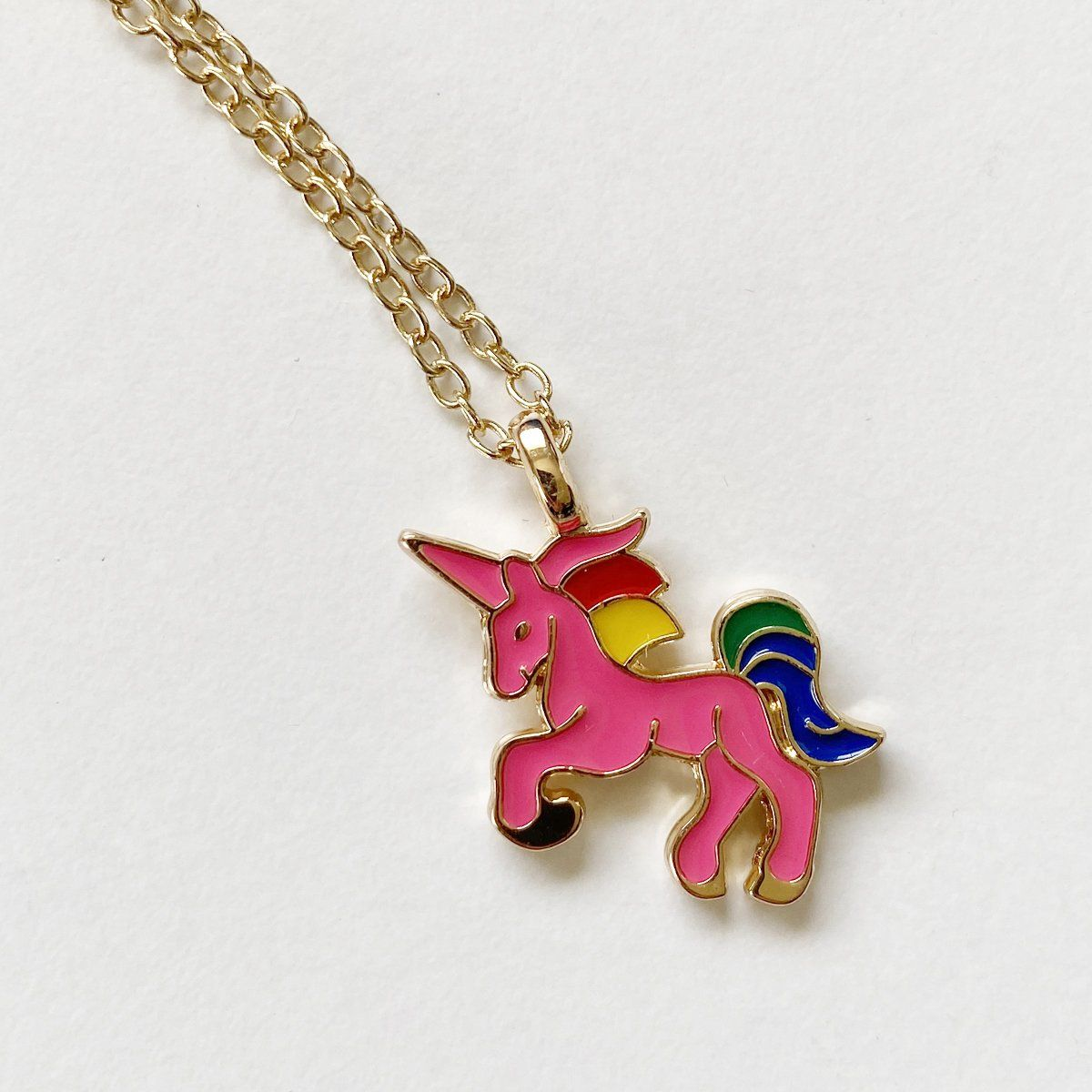 Unicorn Necklace (Hot Pink)