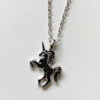Unicorn Necklace (Silver)