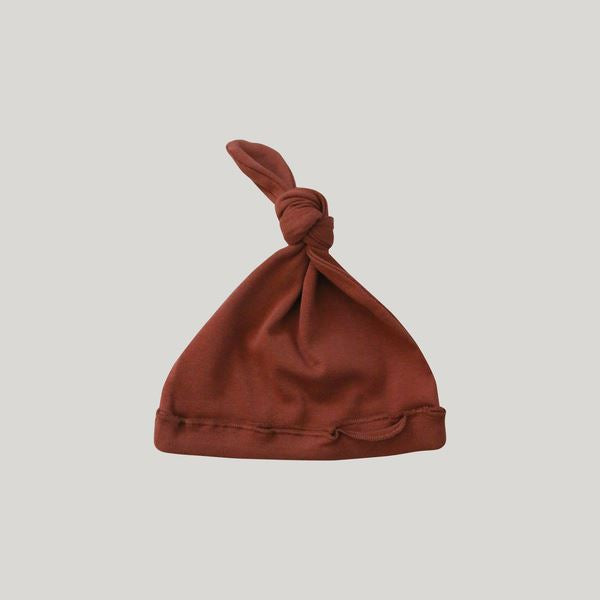 Knotted Hat (Rust)