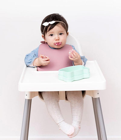 Catchie Bibs (Mint/Grey)