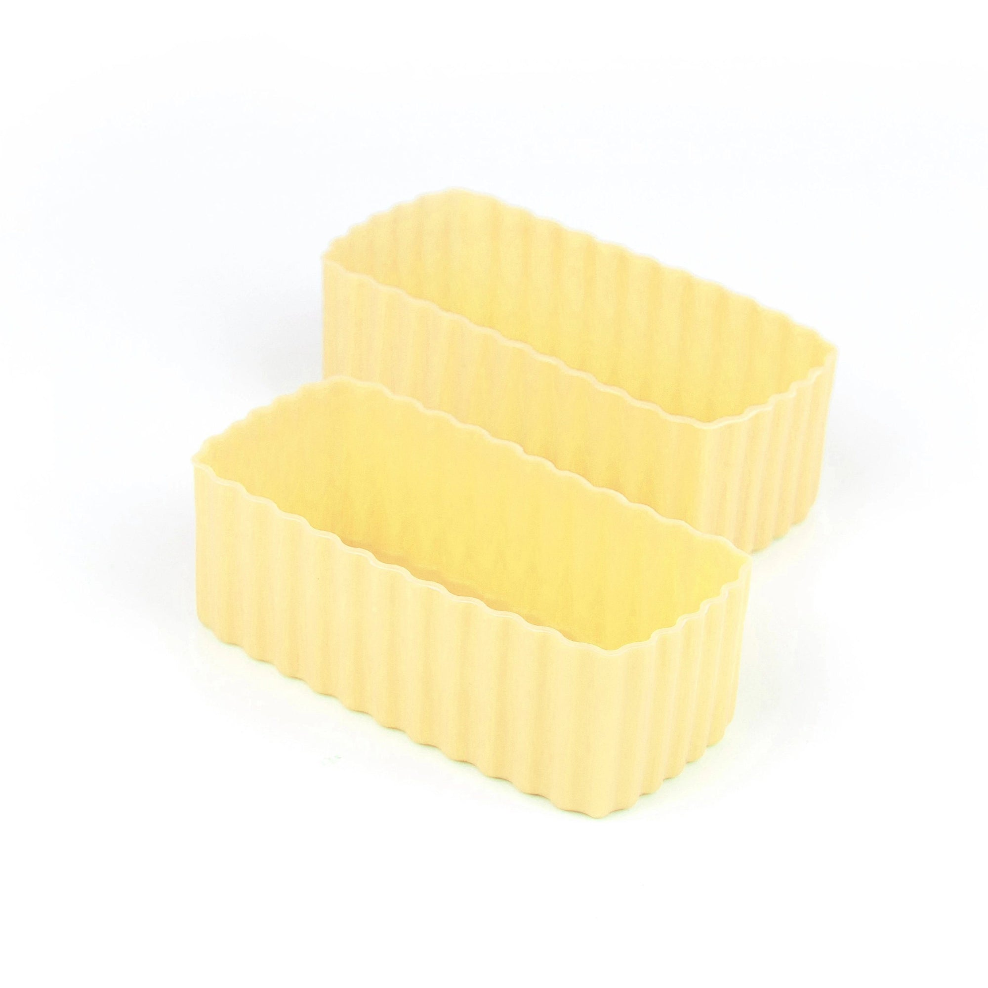 Bento Rectangle Cups (Yellow)