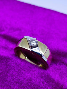 DGR20 14K Men's Ring