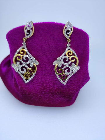 ER17 14K Ladies Earring