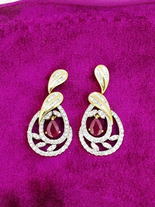 ER47 14K Ladies Earring