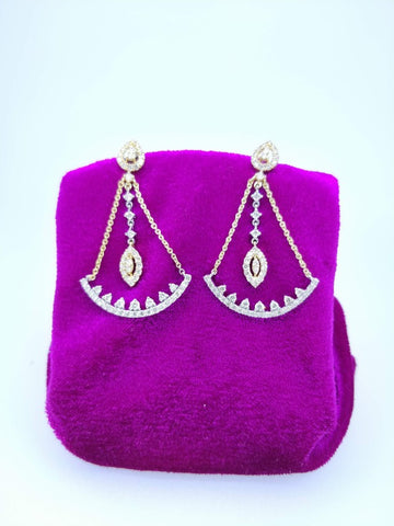 ER58 14K Ladies Earring