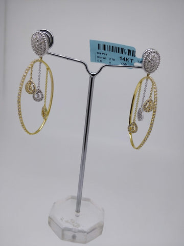 ER60 14K Ladies Earring