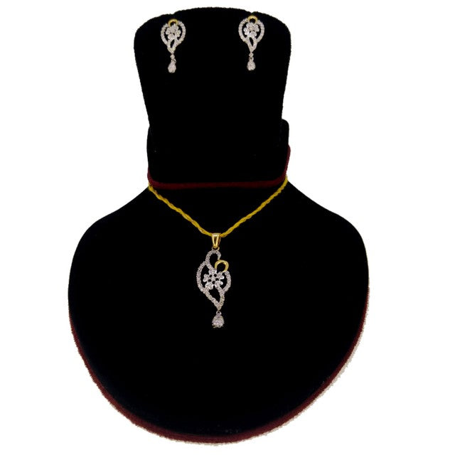 PS17 14K Pendant Set