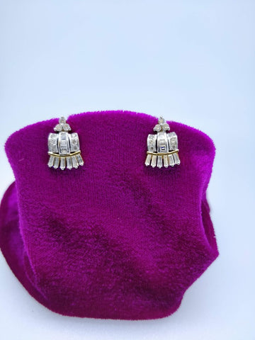 T33 18K Ladies Earring