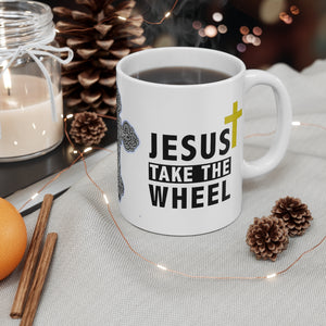 Jesus Take The Wheel - Coffee Mug - The Liberty Daily
