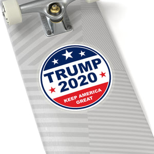 Trump 2020 - Circle Sticker - The Liberty Daily