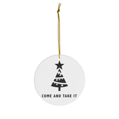 Christmas: Come and Take It - Ornament - The Liberty Daily