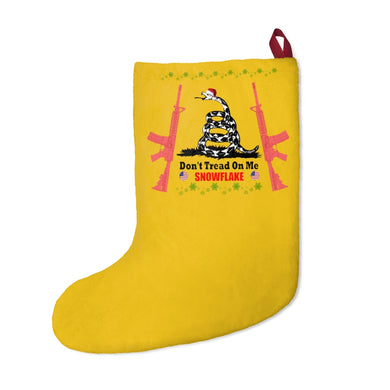 Don't Tread on Me Snowflake - Christmas Stocking - The Liberty Daily