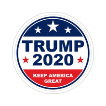 Load image into Gallery viewer, Trump 2020 - Circle Sticker - The Liberty Daily