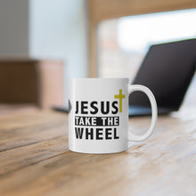 Load image into Gallery viewer, Jesus Take The Wheel - Coffee Mug - The Liberty Daily