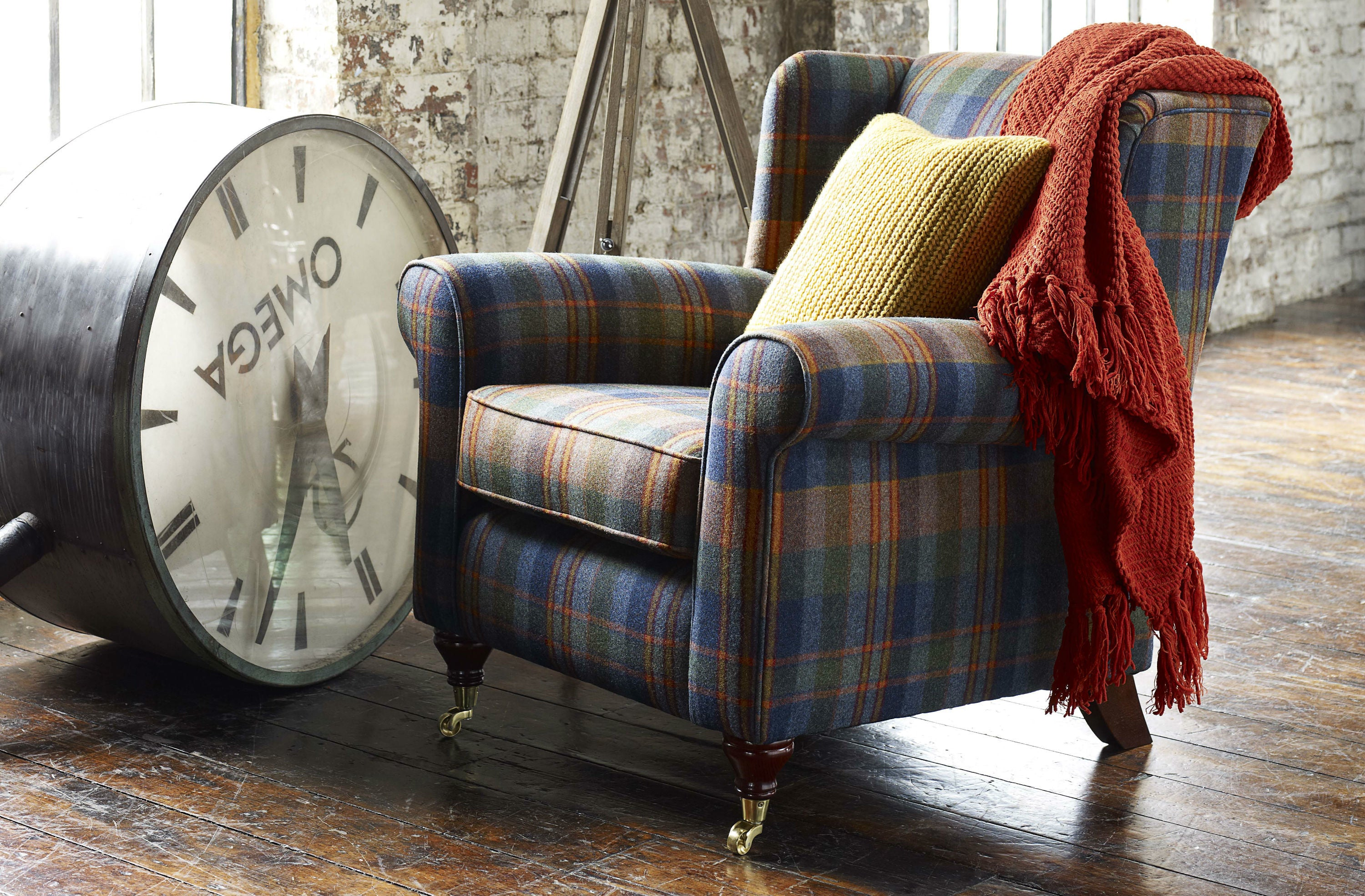 Wing Chair - Constantine Upholstery