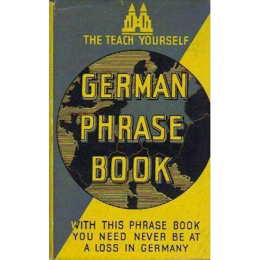 Bookdealers:Germarn Phrase Book (Teach Yourself) | Leonard Cutts