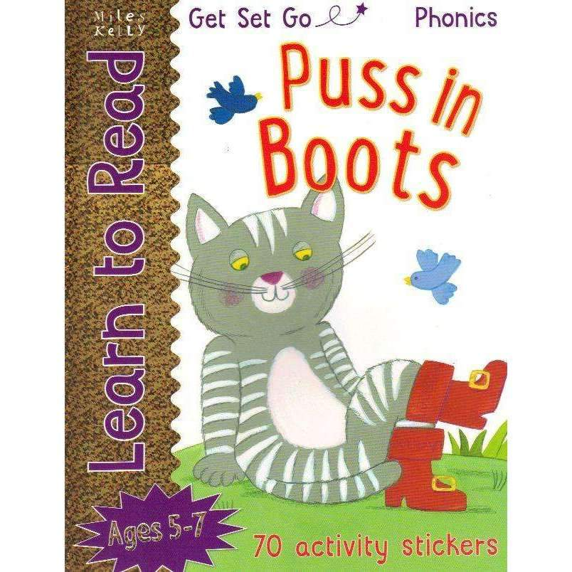 Bookdealers:Get Set Go Learn to Read: Puss in Boots | Fran Bromage