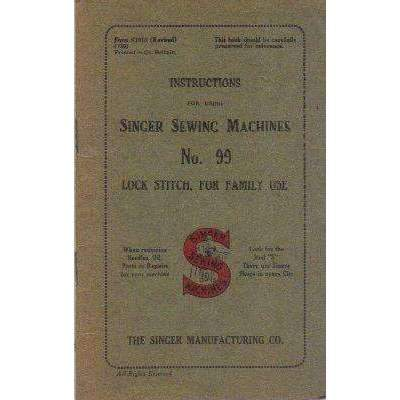 Bookdealers:Instruction for Using Singer Sewing Machines | Singer Manufacturing Co.