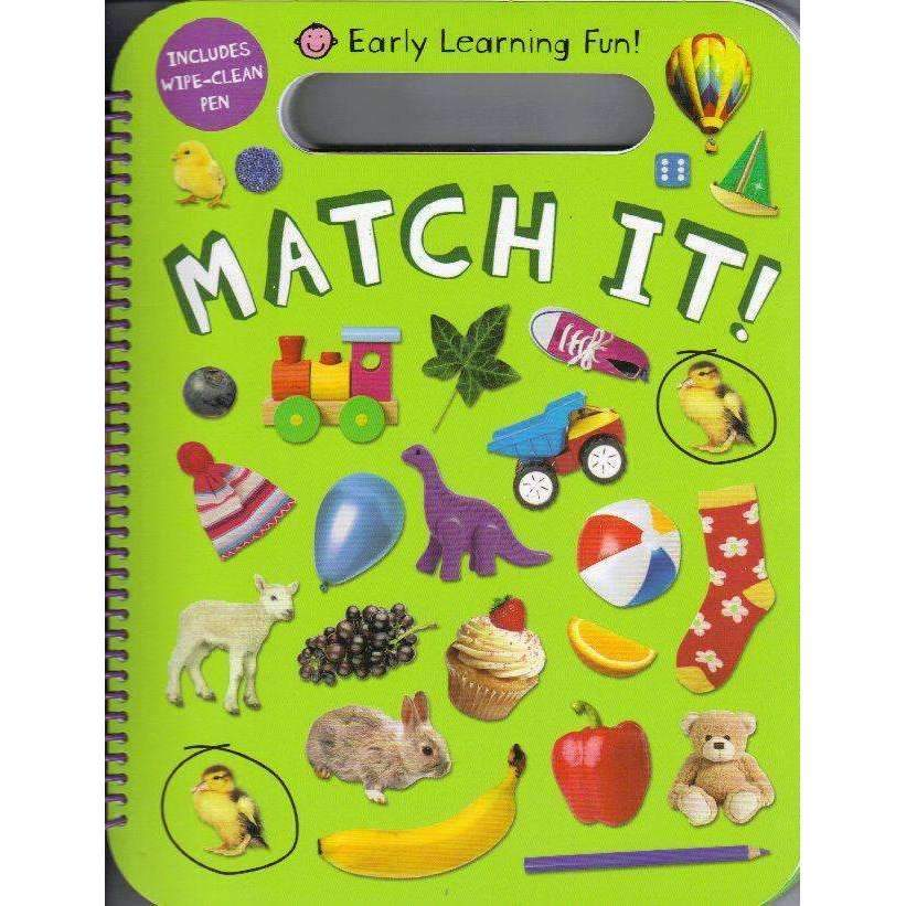 Bookdealers:Match it! (Early Learning Fun!) | Roger Priddy