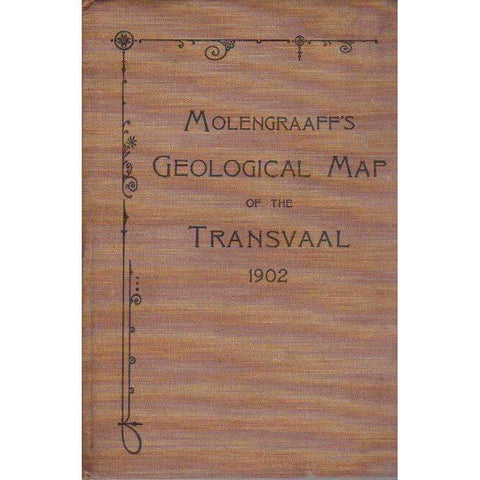Molengraaff's Geological Map of the Transvaal 1902 | G.A.F. Molengraaff