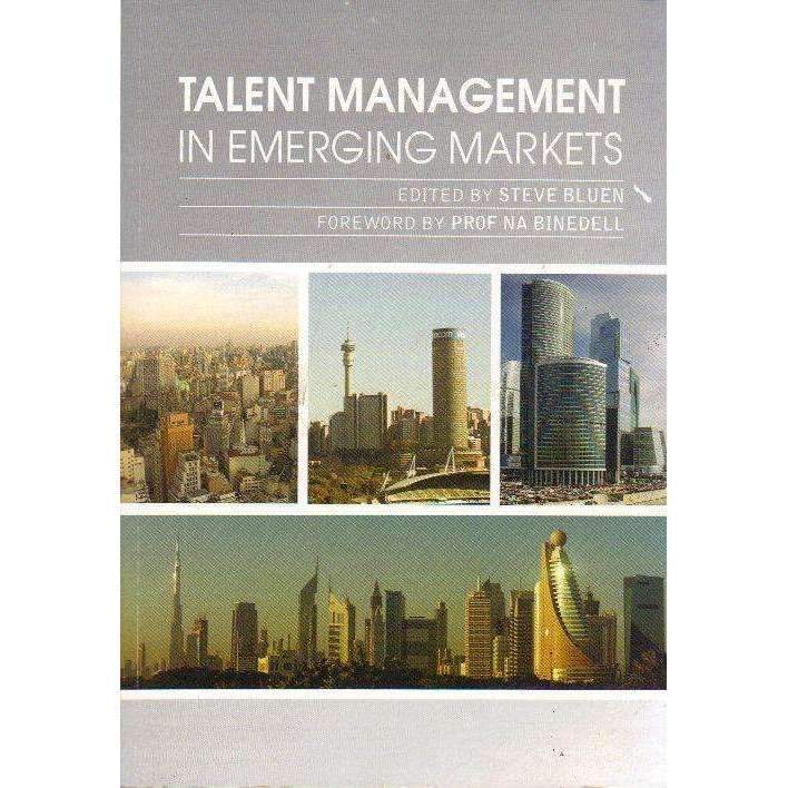 Bookdealers:Talent Management In Emerging Markets (Signed by the Author) | Steve Bluen