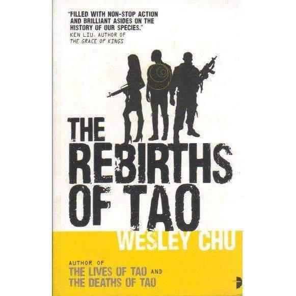 Bookdealers:The Rebirths of Tao | Wesley Chu