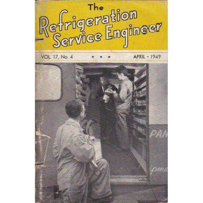 Bookdealers:The Refrigeration Service Engineer (Vol. 17, No. 4) April 1949