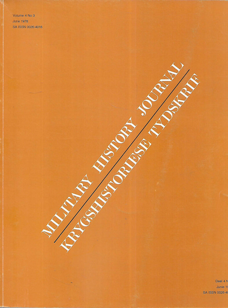 Military History Journal (Vol. 4, No. 3, June 1978)
