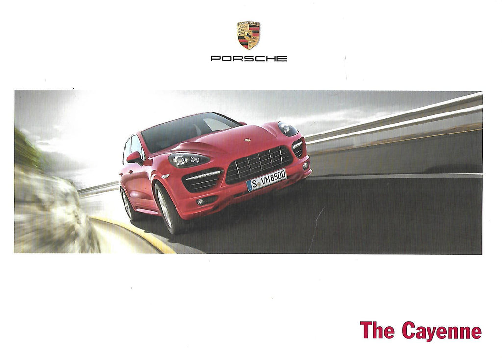 The Cayenne (Brochure)